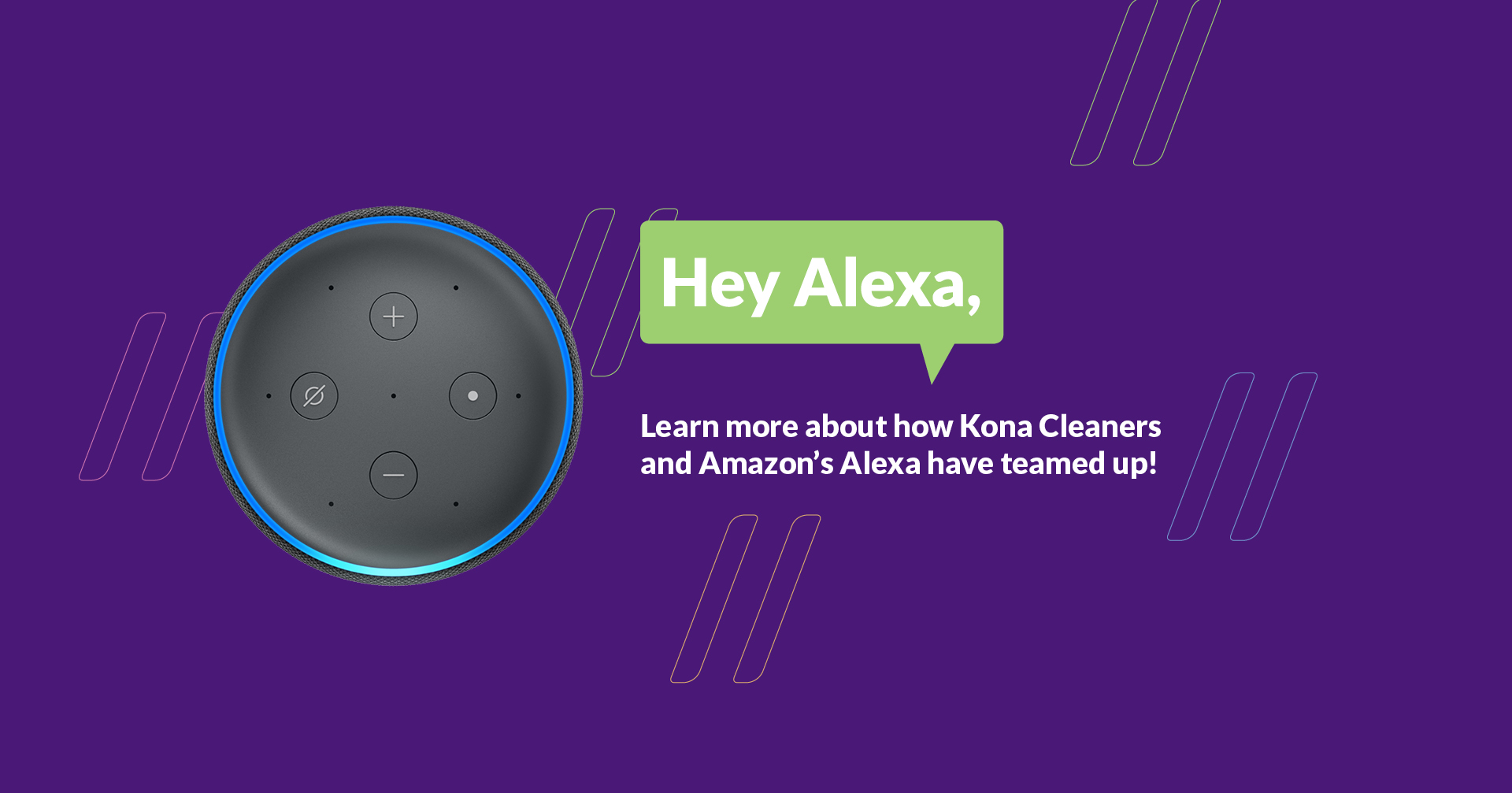 Kona Cleaners Alexa