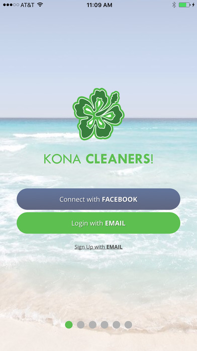 Kona Cleaners app login