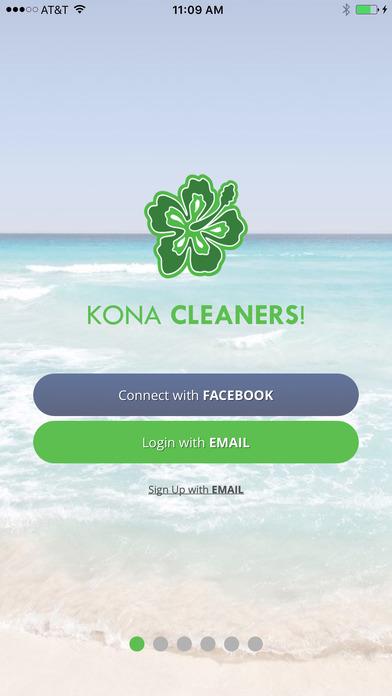 Kona Cleaners app login