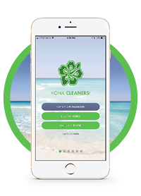 Kona Cleaners Mobile App
